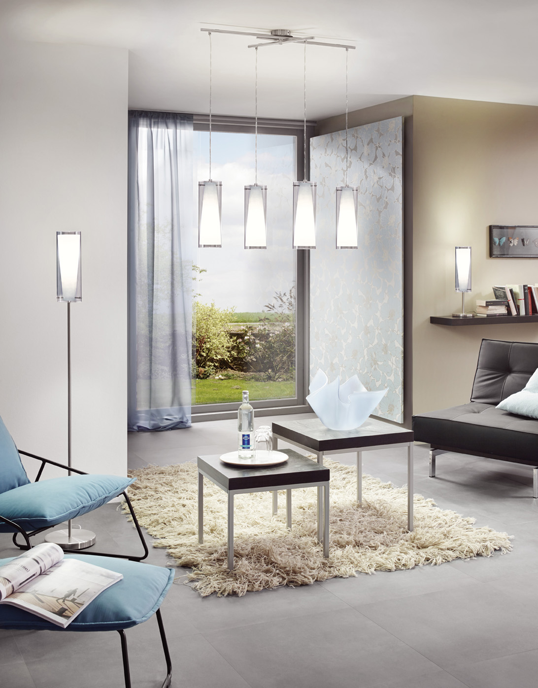 z v sn sv tidlo pinto nero eglo 90305 eglo sv tidla. Black Bedroom Furniture Sets. Home Design Ideas